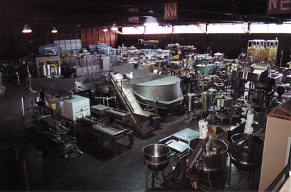 Ager warehouse interior
