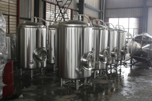 Ager Tank New Stock 7 Bbl Jacketed Brite Beer Tanks 7