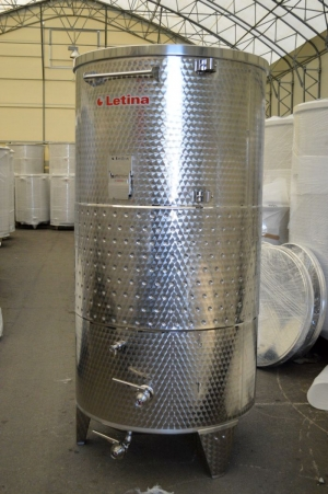 Ager Tank Letina 528 Gallon Jacketed Ferm Storage Tanks 5