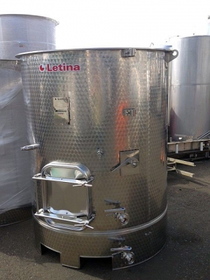 New Stock Letina 620Gal/2350L Forkliftable Variable Capacity Jacketed Tank