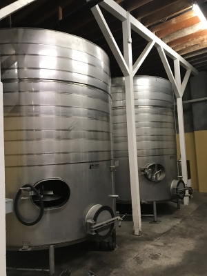 Used 5600 Gal Jacketed storage tanks