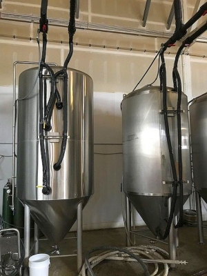 Used Specific Mechanical 20 bbl Fermenter