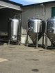 Used 30 bbl Jacketed Brite Tank